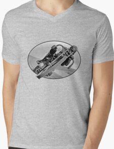 Vintage Race Bike Mens V-Neck T-Shirt
