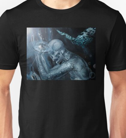 Screaming Butterfly  Unisex T-Shirt