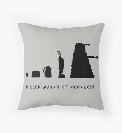 The Evolution of the Kaled Throw Pillow