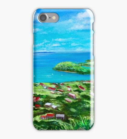 View from St. Thomas iPhone Case/Skin