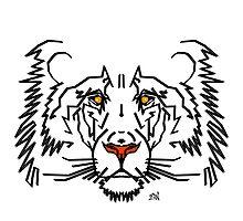 Lion Design by Vincent J. Newman