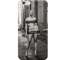 Censored Model iPhone Case/Skin