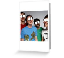 Animal Collective Greeting Card