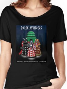 Marvel at the Su-WHO-per-heroes Women's Relaxed Fit T-Shirt