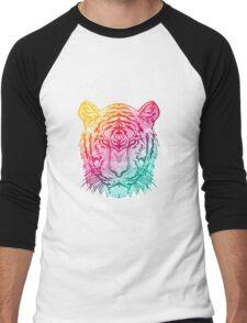 Warm Tiger Men's Baseball ¾ T-Shirt
