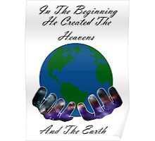 He Created the Earth Poster
