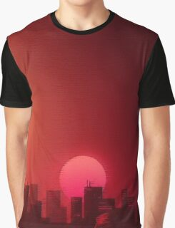 Hotline Miami Landscape Aesthetics Graphic T-Shirt