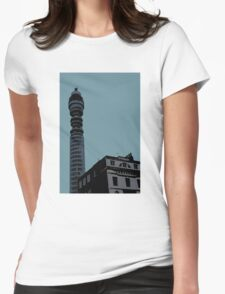 London Landmark by Tim Constable Womens Fitted T-Shirt