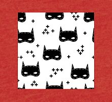 Kids pattern with super hero mask Tri-blend T-Shirt