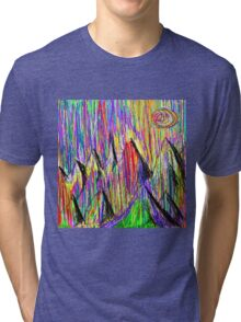 Colour Falls - Matt Texture 6 Tri-blend T-Shirt
