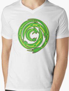 Rayquaza design Mens V-Neck T-Shirt