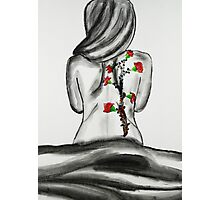 Back Tattoo  Photographic Print