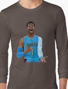 """Deangelo Russell """"ice in my veins"""" Long Sleeve T-Shirt"""