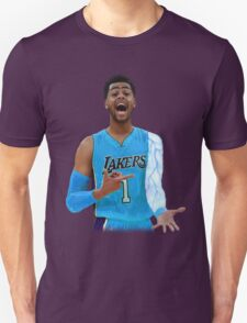 "Deangelo Russell ""ice in my veins"" Unisex T-Shirt"