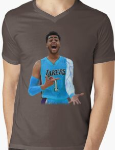 "Deangelo Russell ""ice in my veins"" Mens V-Neck T-Shirt"