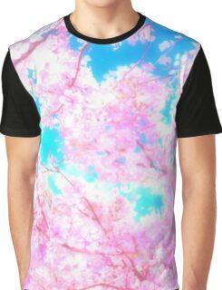 Cherry Blossom Sakura Tree Graphic T-Shirt