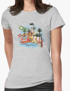 las vegas Womens Fitted T-Shirt