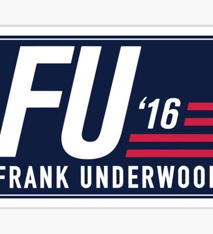 FU 2016 - Blue Sticker