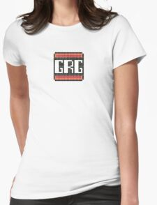 Grumpy Retro Gamers Logo Womens Fitted T-Shirt