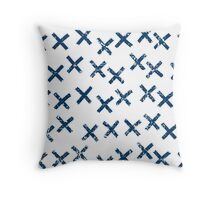 Pattern with crosses Throw Pillow