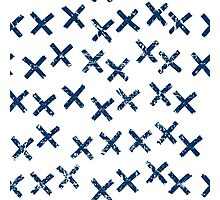 Pattern with crosses Photographic Print