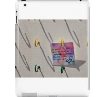 Public Note iPad Case/Skin
