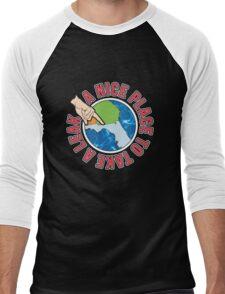 A Nice Place Men's Baseball ¾ T-Shirt