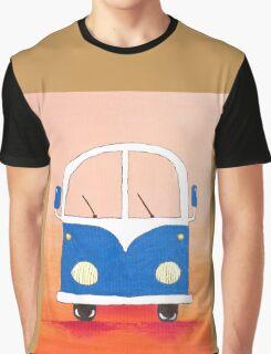 Blue bus Graphic T-Shirt