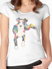 Daisy (a dog of new york) Women's Fitted Scoop T-Shirt