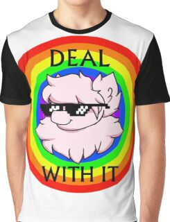 Deal With The Fluffle Graphic T-Shirt