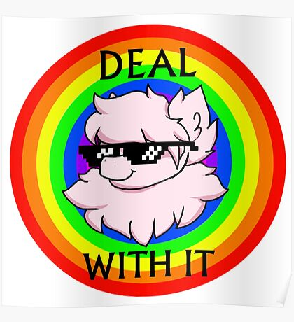 Deal With The Fluffle Poster