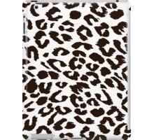 Black and white leopard iPad Case/Skin