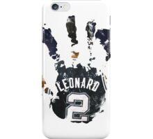 kawhi leonard hand iPhone Case/Skin