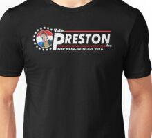 Vote Preston Esq. Unisex T-Shirt