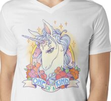 One of a Kind Creature Mens V-Neck T-Shirt
