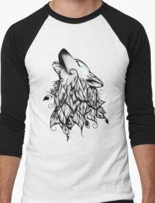 The Wolf  Men's Baseball ¾ T-Shirt