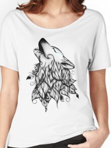The Wolf  Women's Relaxed Fit T-Shirt