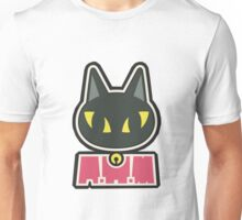 Kaori's Violin case sticker - BLACK CAT Unisex T-Shirt