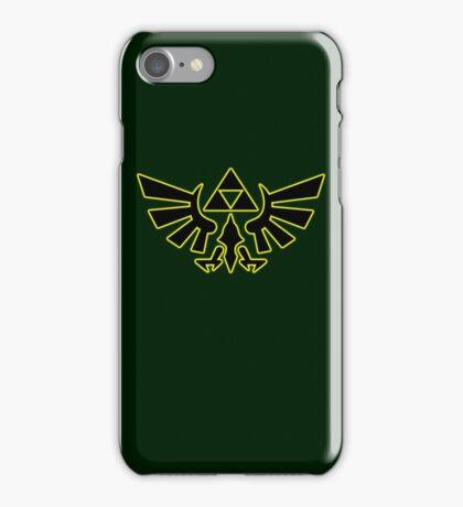 Zelda - Hylian Crest V2 iPhone Case/Skin