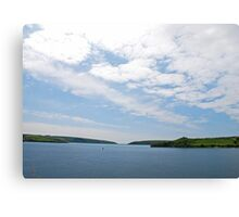 Harbor Entrance Canvas Print
