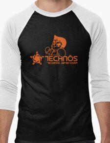 Technos Japan Kunio Men's Baseball ¾ T-Shirt