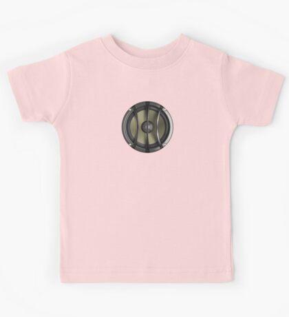 Speaker i-Phone Cover - Bass Subwoofer T-Shirt Sticker  Kids Tee