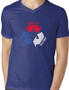 America Recycle  Mens V-Neck T-Shirt