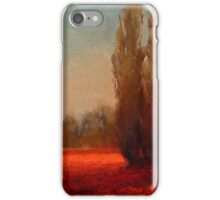 Across The Tulip Field - Red Flowers Horizontal Landscape iPhone Case/Skin