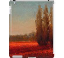 Across The Tulip Field - Red Flowers Horizontal Landscape iPad Case/Skin