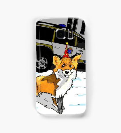 Fox n cops Samsung Galaxy Case/Skin
