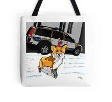Fox n cops Tote Bag