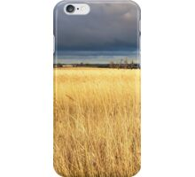 Grassy field in the Australian countryside. iPhone Case/Skin