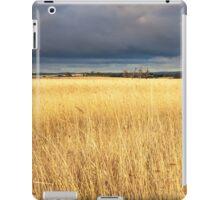 Grassy field in the Australian countryside. iPad Case/Skin