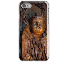 Chatsworth house- Carved limewood cravat  iPhone Case/Skin